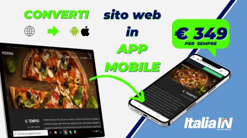 Converti sito web in App